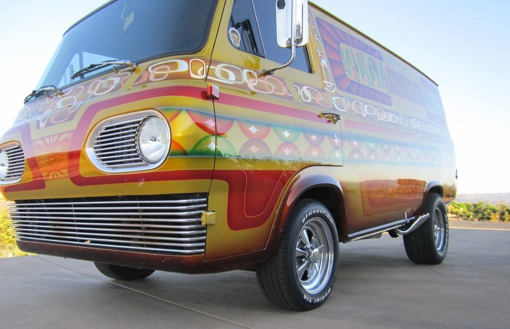 Ford E Series >> Pass the Pipe: 1966 Ford Boogie Van