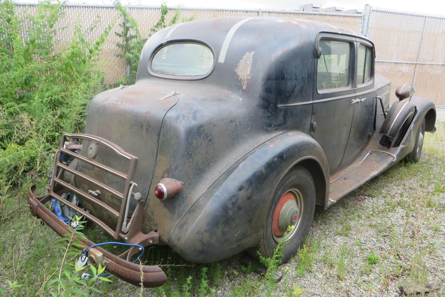 Tarp Find: 1937 Packard Super 8 Club Sedan on