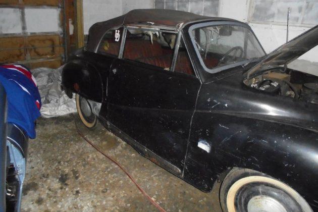 Garage Find! Austin A40 Somerset