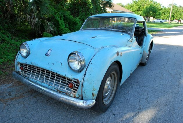 Where's The Rest Of The Story? TR3A Barn Find