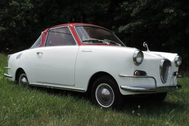 Pucker Up! Ex-Museum 1965 Goggomobil TS250 Coupe
