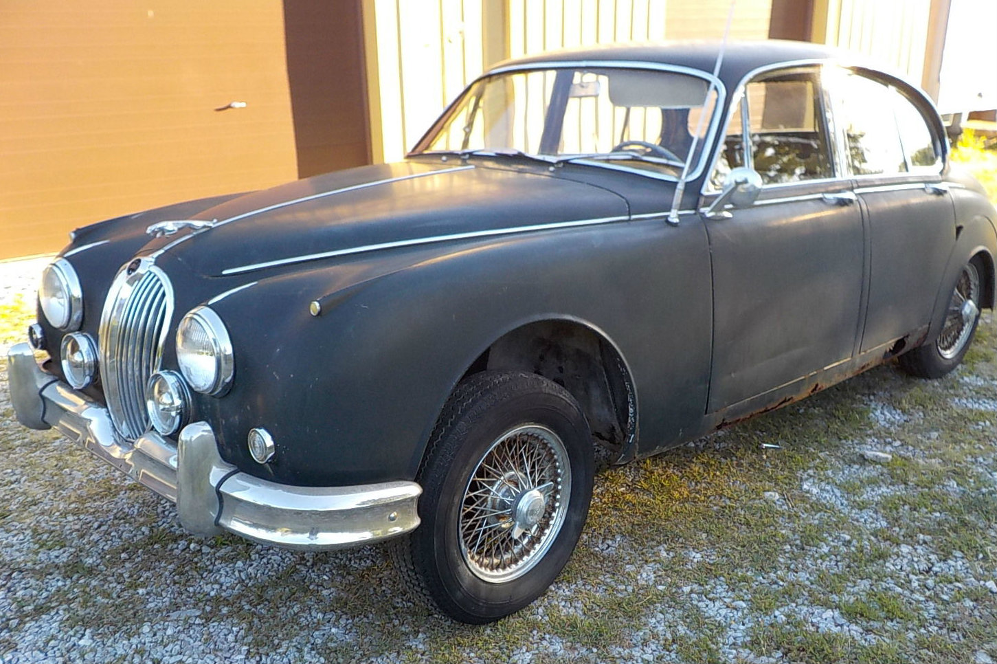 There's Only One Problem: 1963 Jaguar Mk. II At No Reserve!