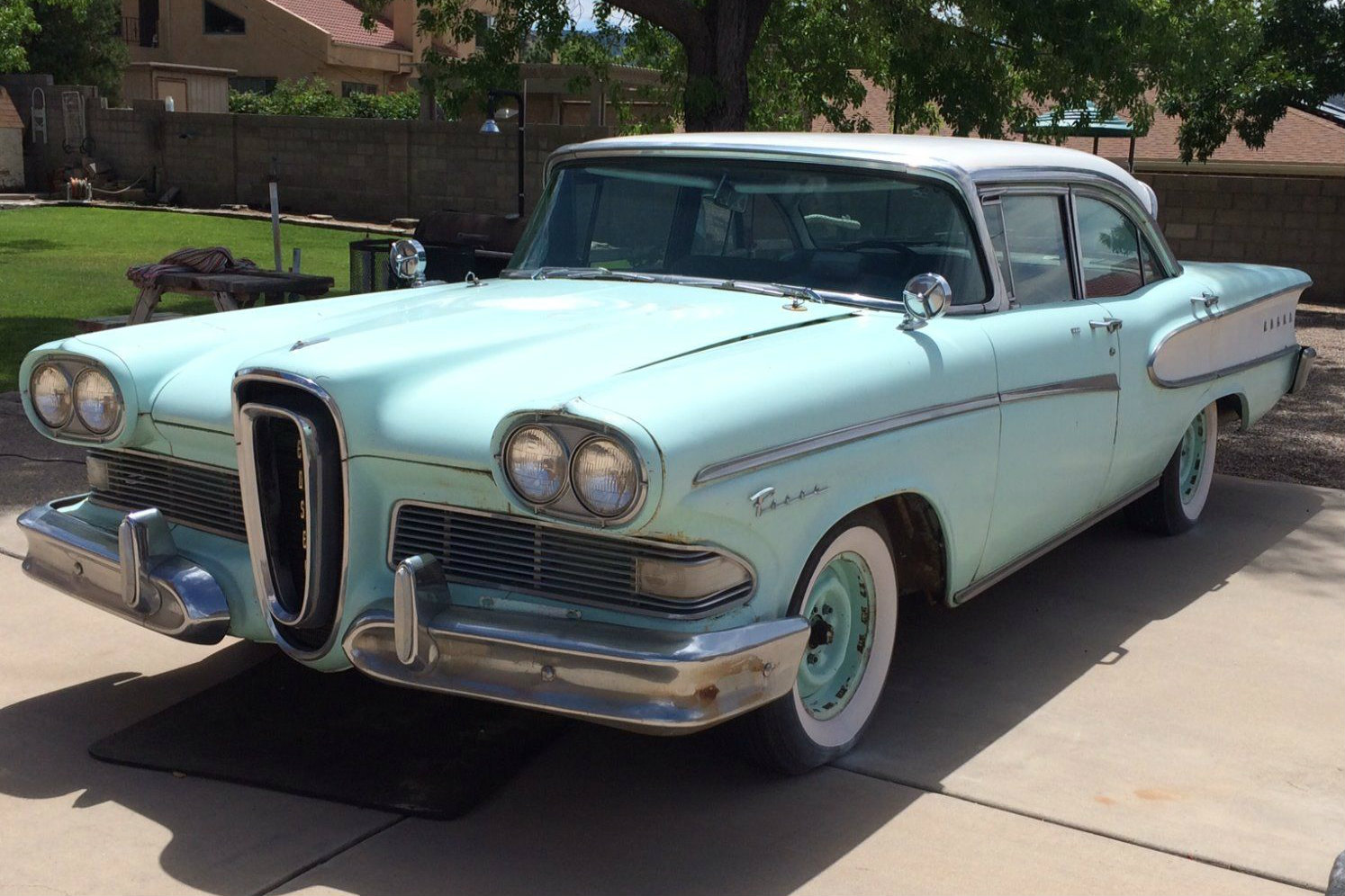 91 000 Miles 1958 Edsel Pacer