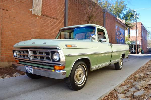 Survivor Ranch Hand: 1971 Ford F100