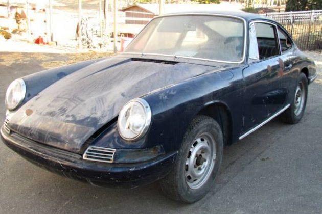 Unloved 1966 Porsche 912 Project