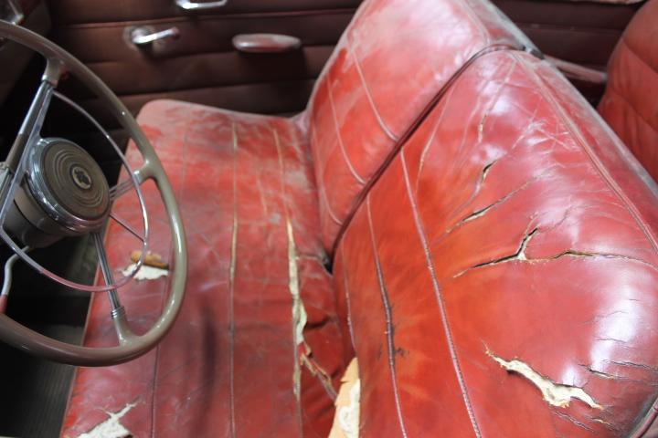True Survivor 1942 Packard 110 Convertible