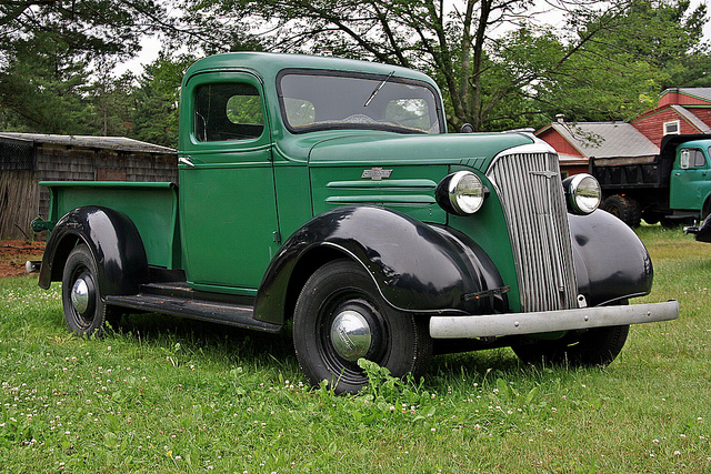 Straight Outta The Barn 1938 Chevrolet Pickup