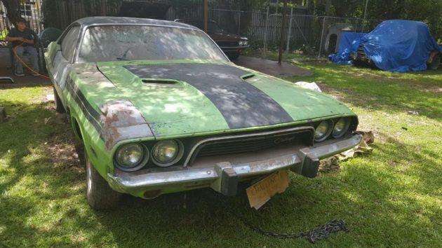 Yard Find! 1973 Dodge Challenger Rallye
