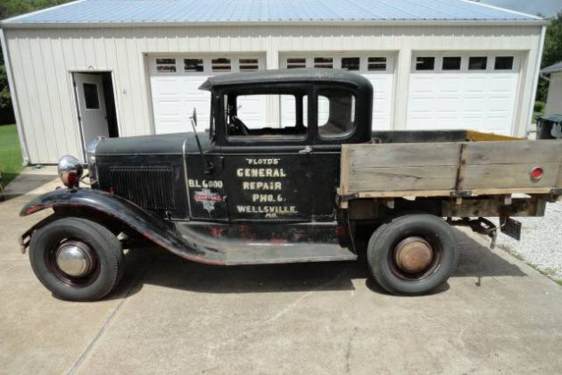 Early Ranchero: 1931 Ford Model A Coupe