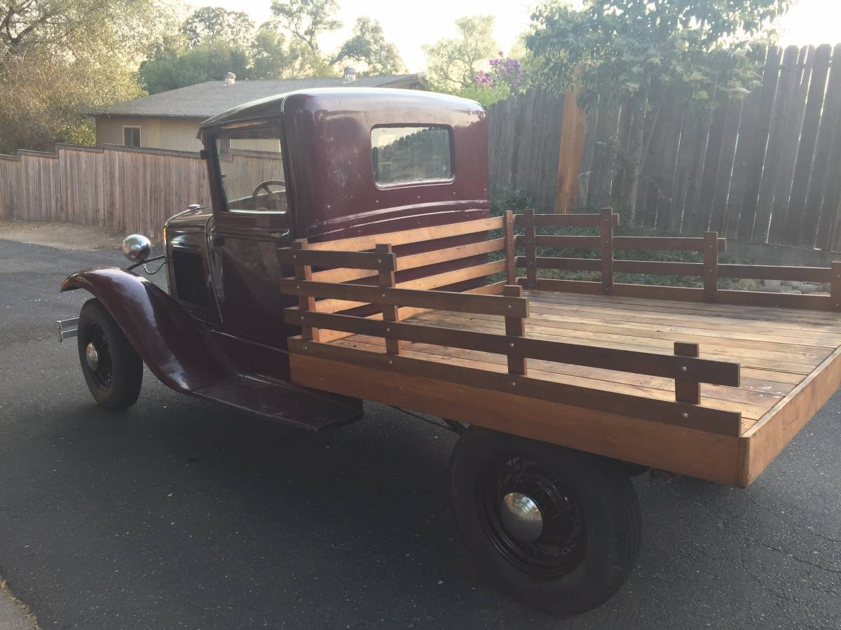 Nice Old Truck 1931 Ford Stake Bed
