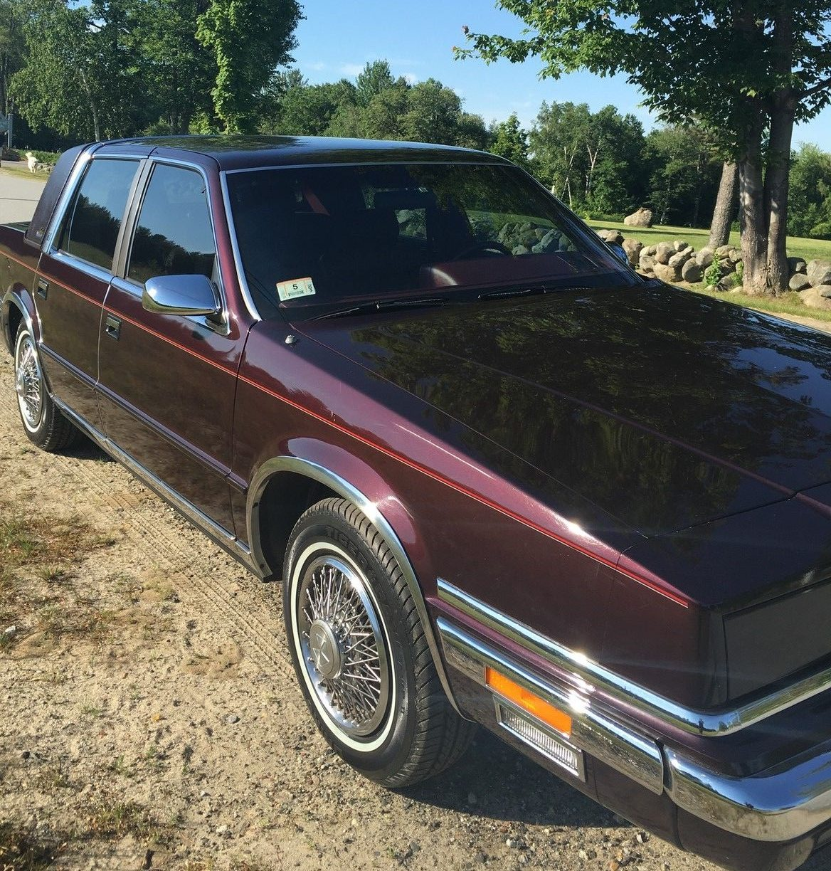 17 5k miles and mark cross leather 1988 new yorker for 1990 chrysler new yorker salon