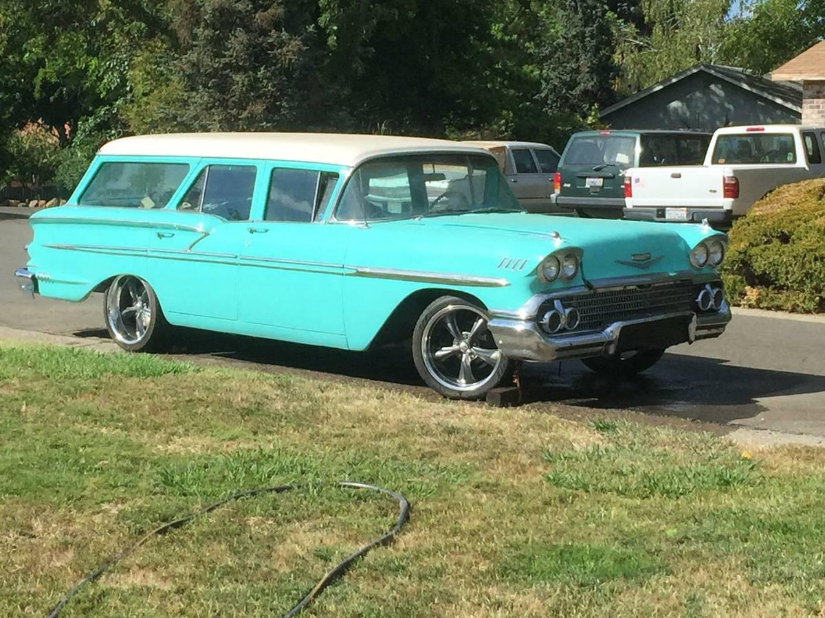 LS3 Swap: 1958 Chevrolet Nomad