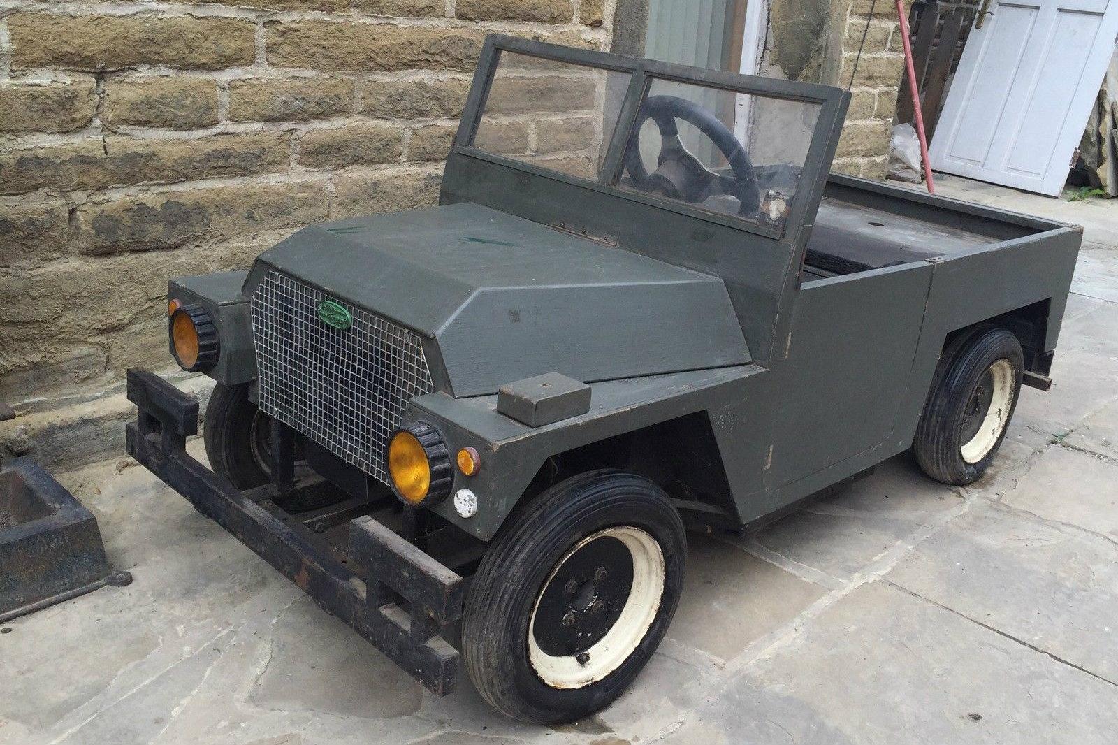 Little Lan! 1/2 Scale Land Rover Defender