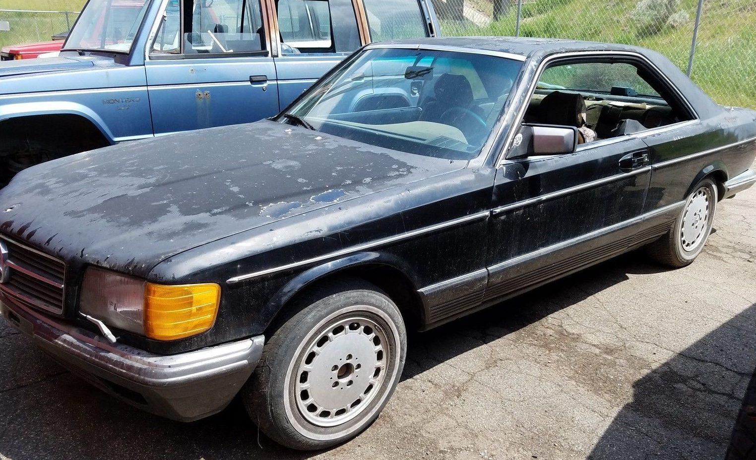 Cheap Grey Market: 1984 Mercedes 500SEC