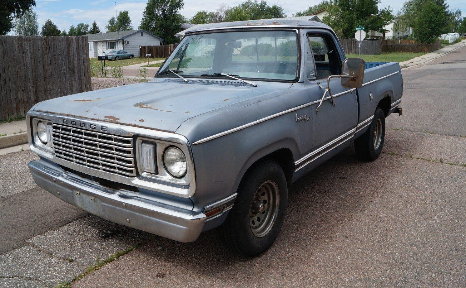 Dodge Diesel Trucks >> Wallflower Warlock: 440-Equipped Dodge D150