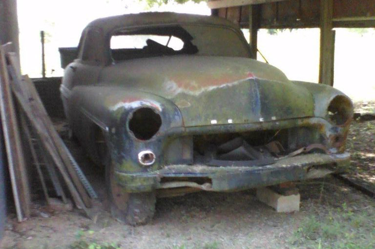 Still In The Barn Dirty Old 1949 Mercury
