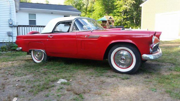 An Affordable Dream: 1956 Ford Thunderbird
