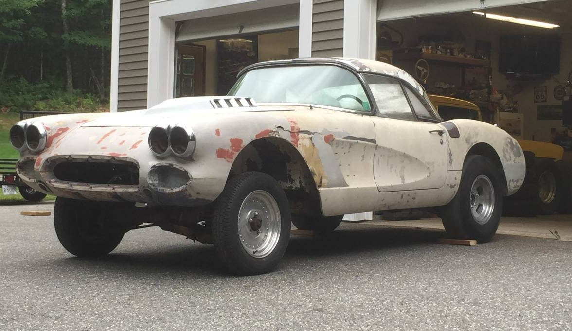 Ex Drag Car 1959 Corvette