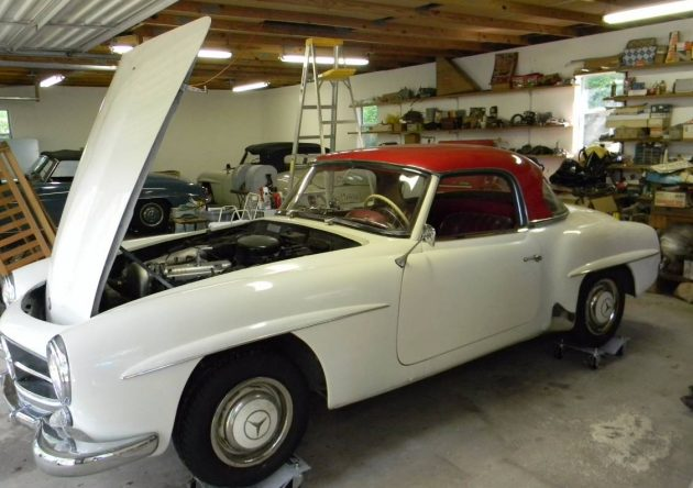 Cashing In: Mercedes 190SL Collection