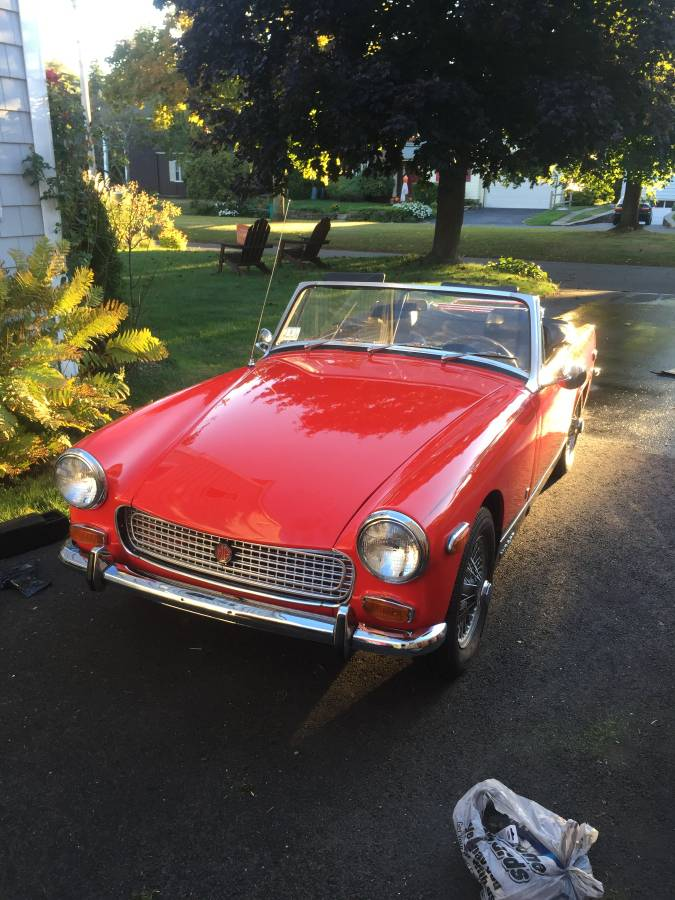 It\'s A Bit Small: 1970 MG Midget