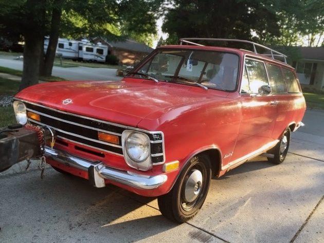 083116 Barn Finds - 1969 Opel Kadett - 1