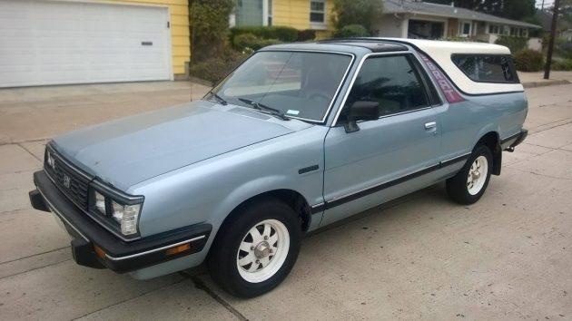 $5,700 Bi-Drive: 1986 Subaru Brat GL
