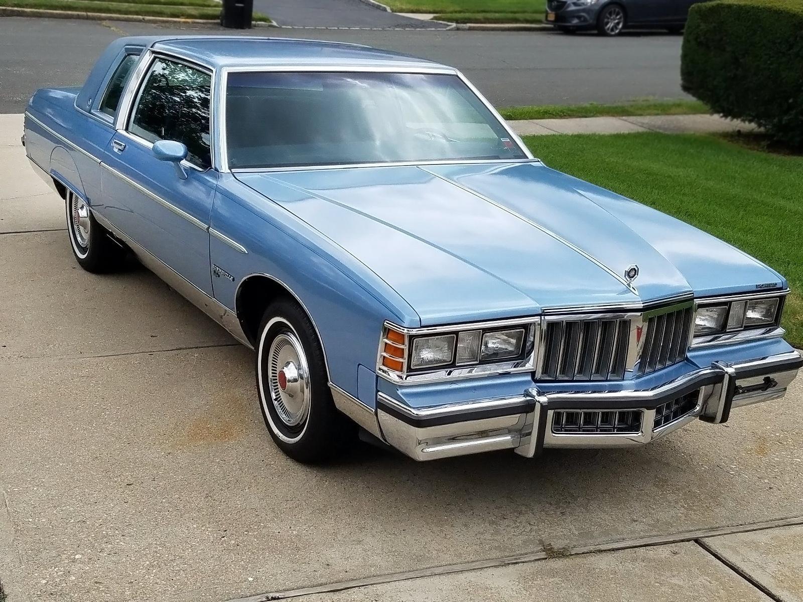 3 200 Diesel 1980 Pontiac Bonneville Brougham
