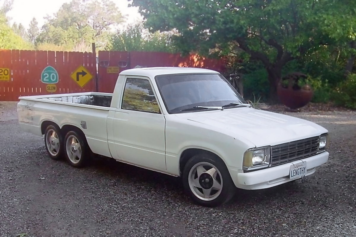 Quite A Stretch 1980 Toyota Hilux Pickup