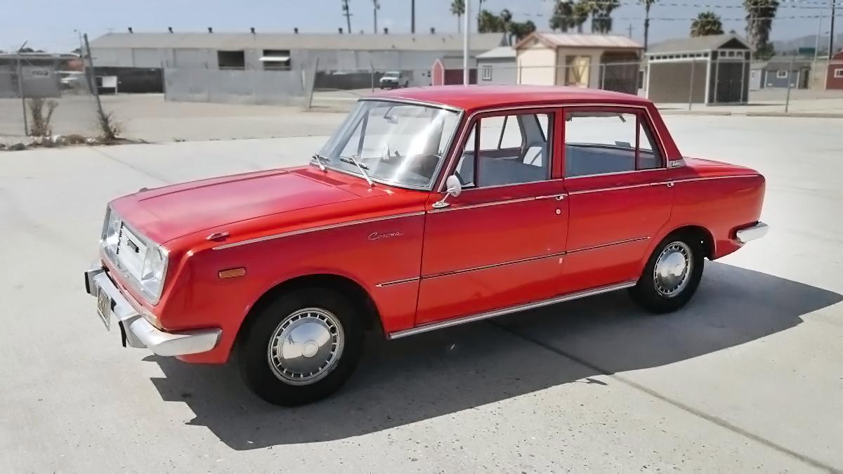 Toyota Crown 2016 Price In Usa >> $2,900 California Corona: 1966 Toyota Corona Deluxe
