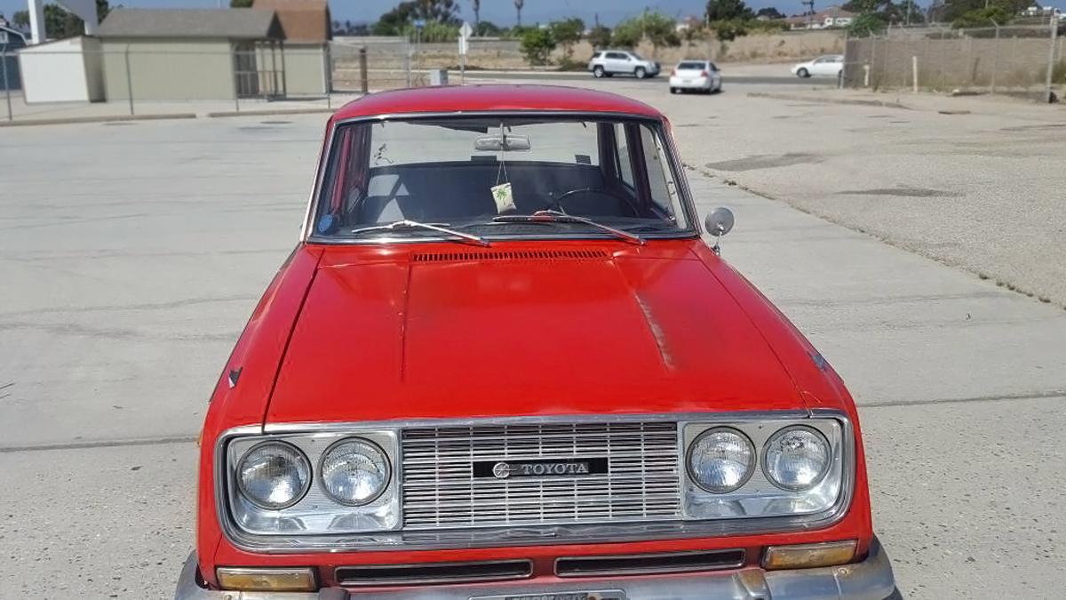 $2,900 California Corona: 1966 Toyota Corona Deluxe