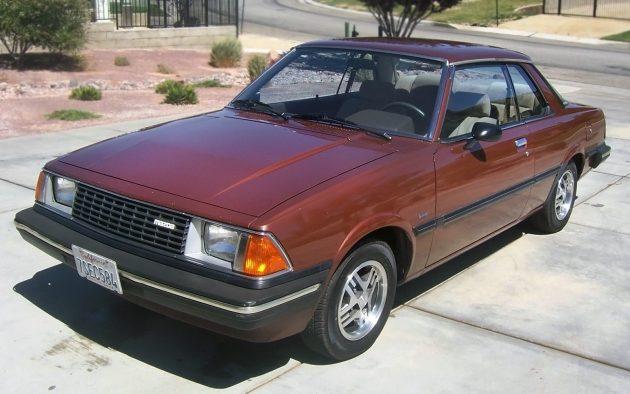 A Capella: 1982 Mazda 626 Coupe