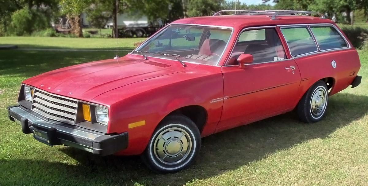 2 995 And 36 000 Miles 1980 Ford Pinto Wagon