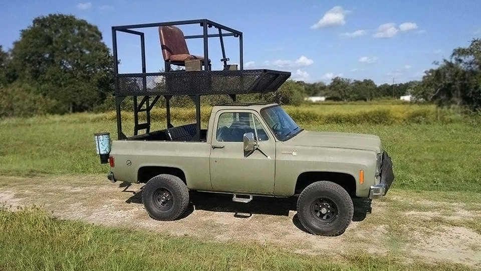 K5 Blazer For Sale Craigslist >> $4,000 Texas Hunting Truck: 1976 Chevrolet K5 Blazer