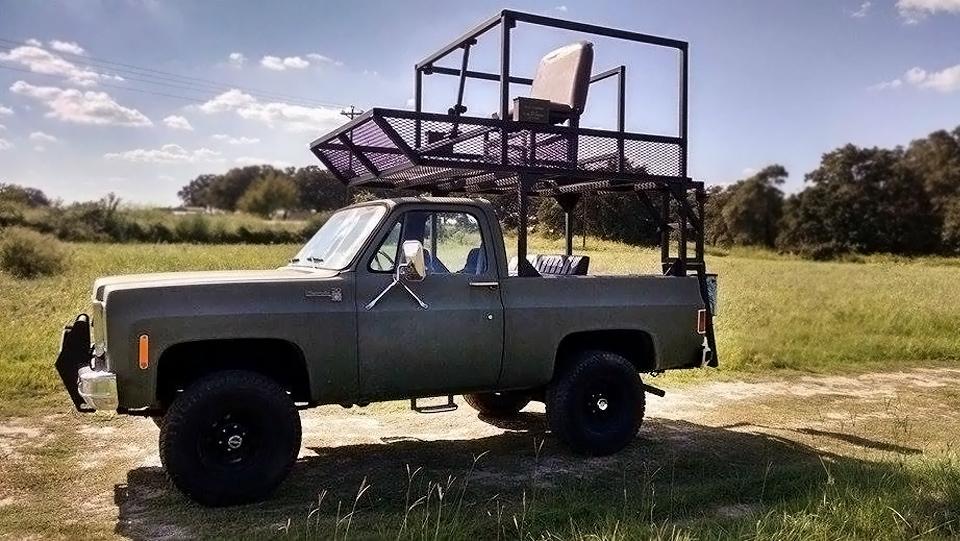 4 000 Texas Hunting Truck 1976 Chevrolet K5 Blazer