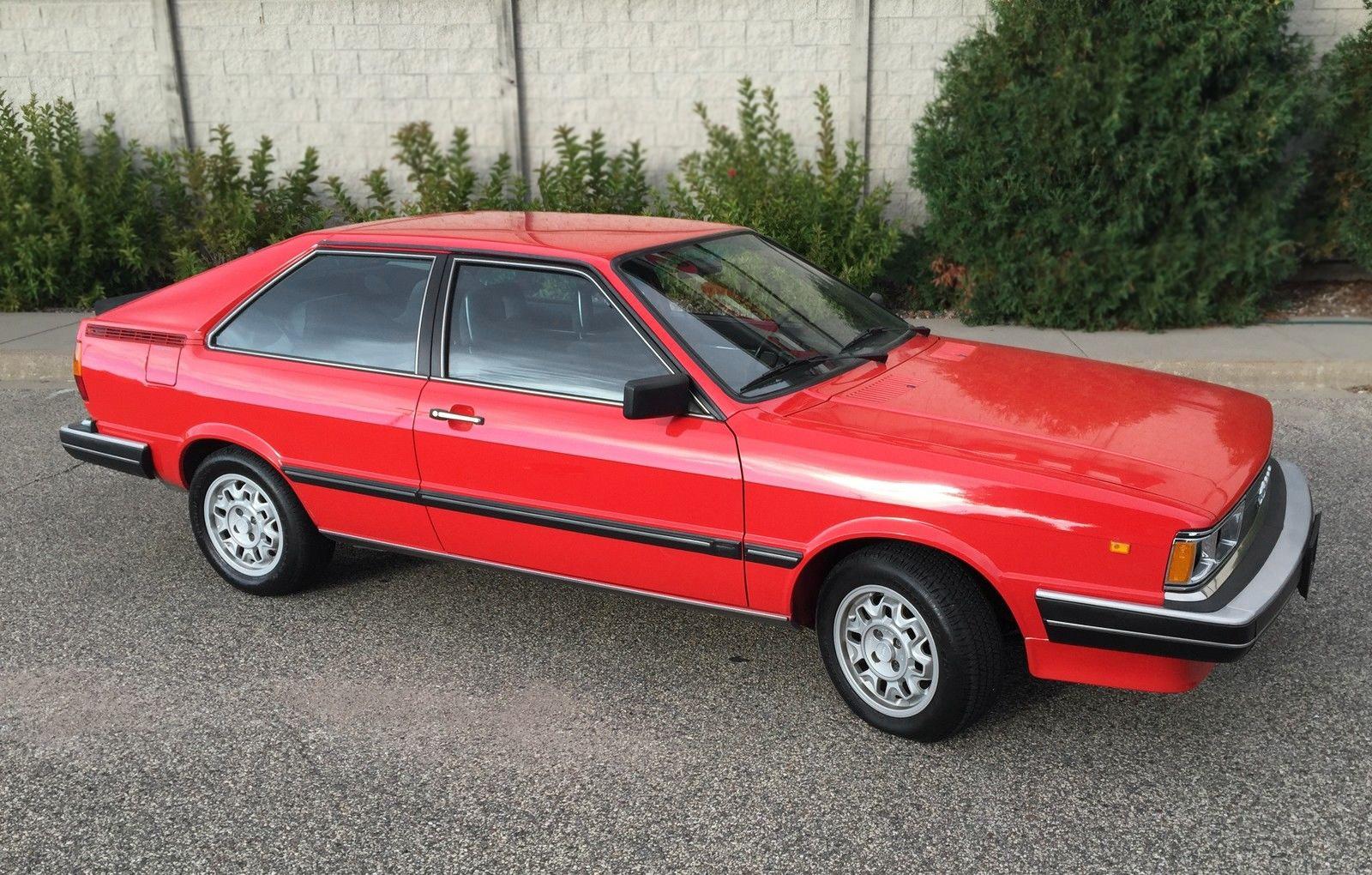 36 000 Mile Original 1982 Audi Coup 233 Gt