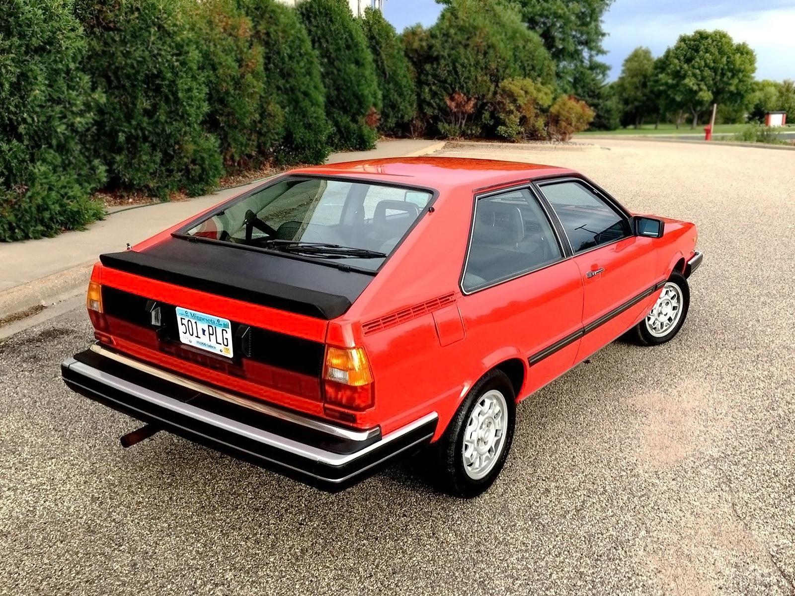 36,000 Mile Original: 1982 Audi Coupé GT