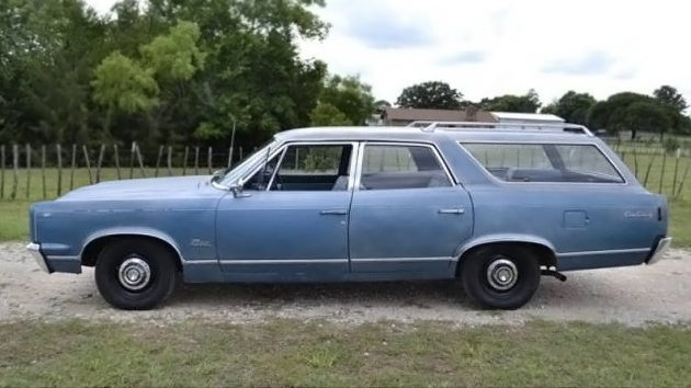 1967 Rambler Rebel 550 Cross Country Wagon