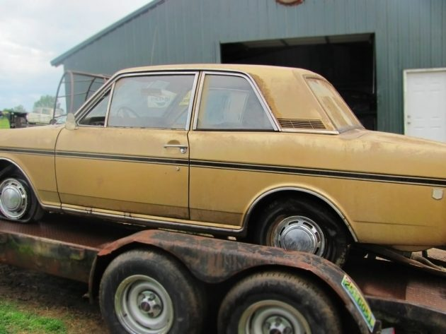 $1,500 Barn Find Ford: 1969 Ford Cortina GT MK II