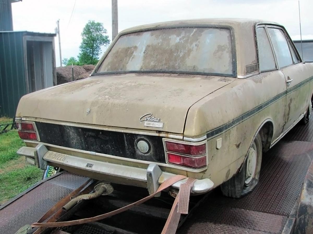 092516-barn-finds-1969-ford-cortina-gt-2 & $1500 Barn Find Ford: 1969 Ford Cortina GT MK II markmcfarlin.com