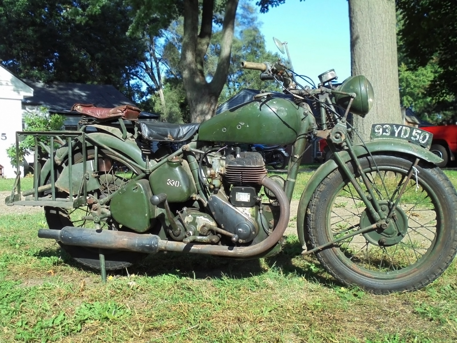 092916 Barn Finds 1944 Bsa Wd M20 1