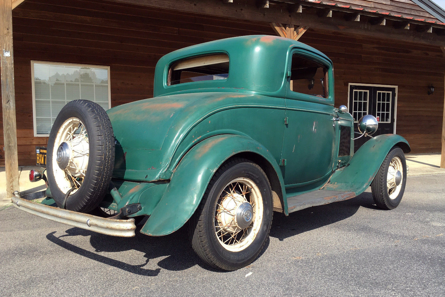 Low Mileage 1932 Ford 3 Window Coupe