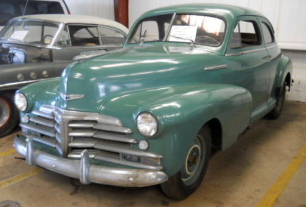 Parked For 48 Years 1946 Chevrolet Stylemaster