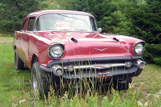 Made for Boggin': 1957 Chevy Bel Air