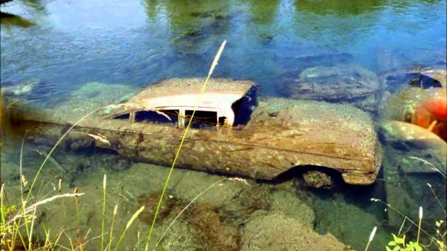1959 Chevy Impala Pond Find