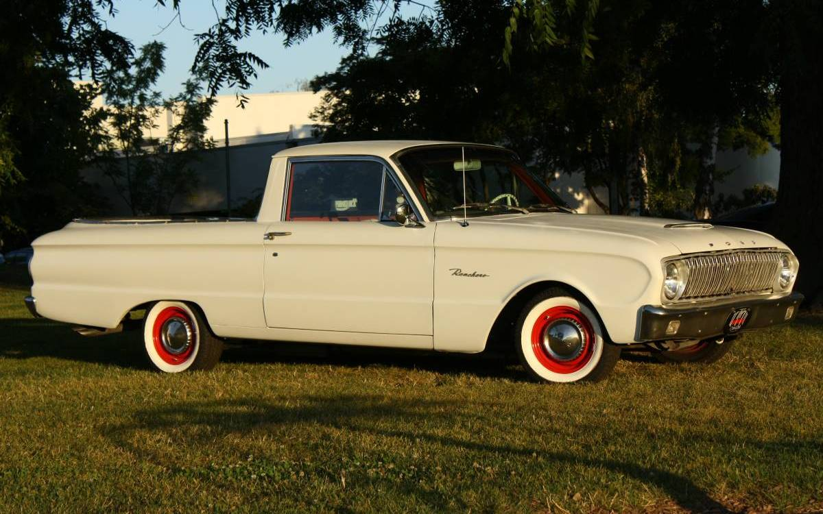Perfect Parts Hauler: 1962 Ford Ranchero