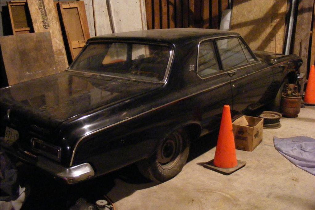 Dad\'s Drag Car: 1963 Dodge 330 Max Wedge