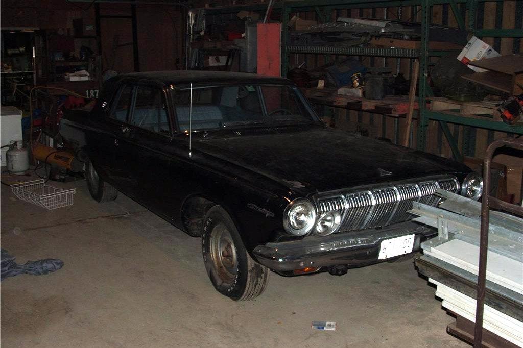 Dad's Drag Car: 1963 Dodge 330 Max Wedge