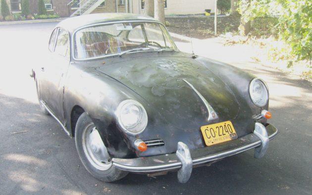 Unrestored 1963 Porsche 356 Super 90