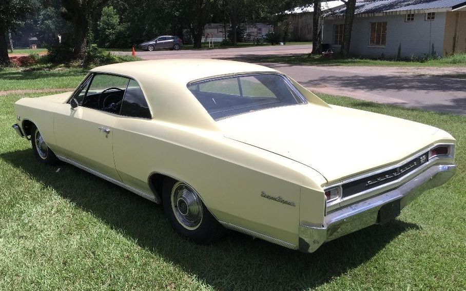2016 Chevelle Ss >> One Owner 1966 Chevrolet Chevelle SS 396