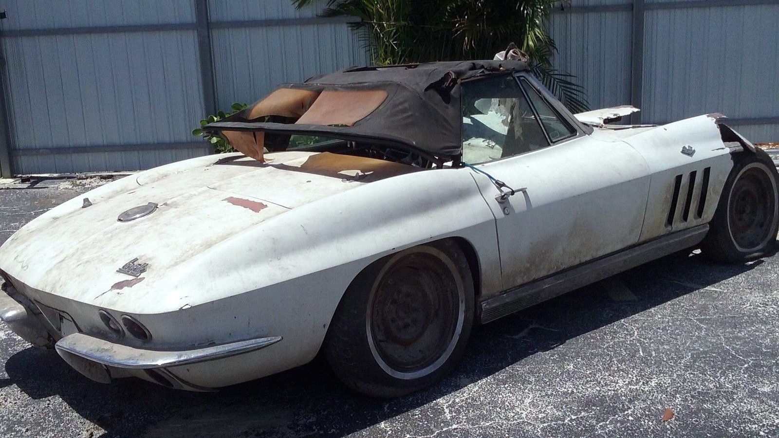 1966 Corvette With Too Much Power